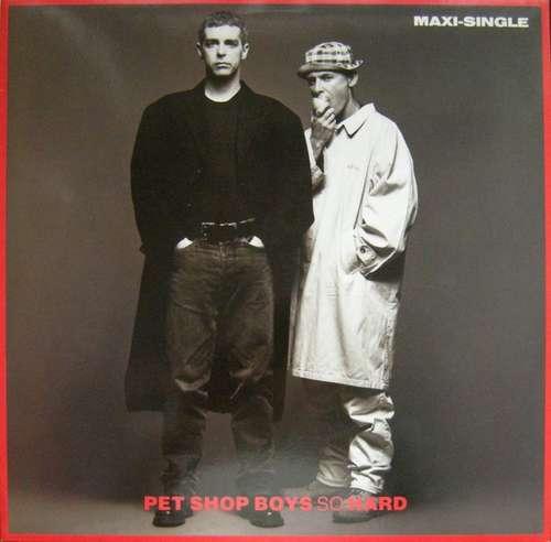 Cover Pet Shop Boys - So Hard (12, Maxi) Schallplatten Ankauf