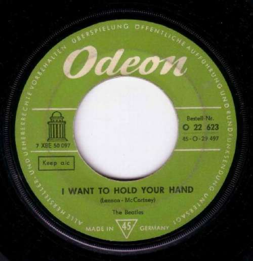Cover The Beatles - I Want To Hold Your Hand (7, Single, Mono) Schallplatten Ankauf