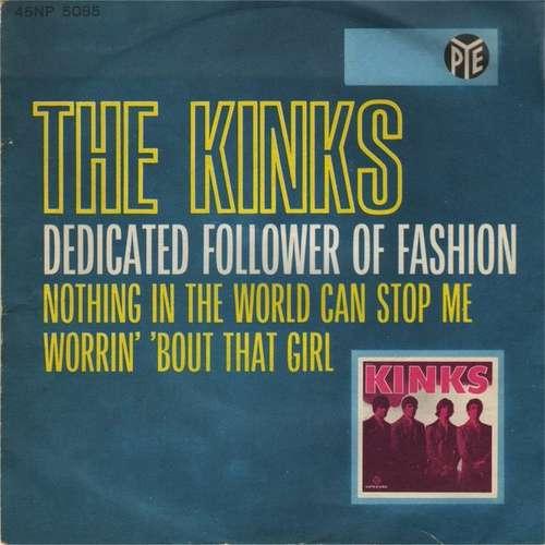 Cover The Kinks - Dedicated Follower Of Fashion (7) Schallplatten Ankauf