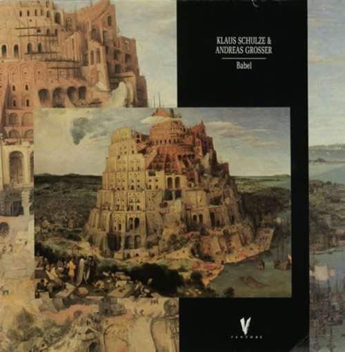 Cover Klaus Schulze & Andreas Grosser - Babel (LP, Album) Schallplatten Ankauf