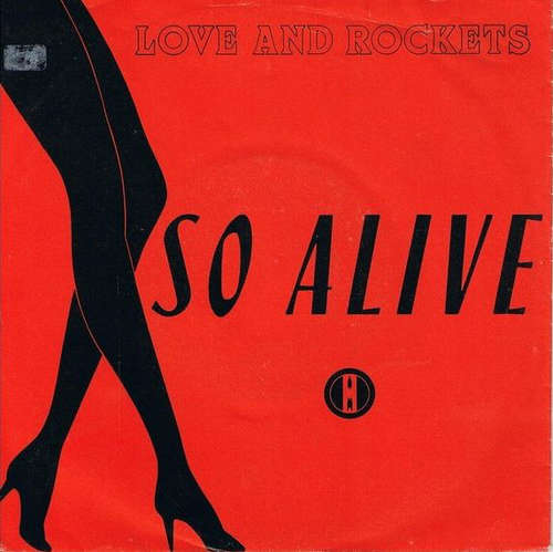 Cover Love And Rockets - So Alive (7, Single) Schallplatten Ankauf