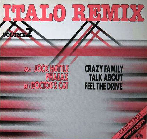 Cover zu Various - Italo Remix Volume 2 (12, P/Mixed) Schallplatten Ankauf