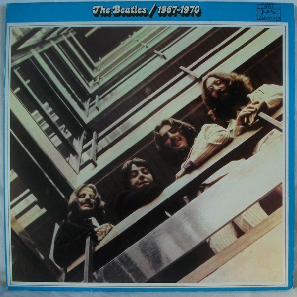 Cover The Beatles - 1967-1970 (2xLP, Comp, M/Print, RE, RP, Gat) Schallplatten Ankauf