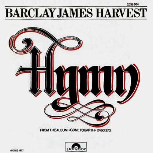Cover Barclay James Harvest - Hymn (7, Single) Schallplatten Ankauf