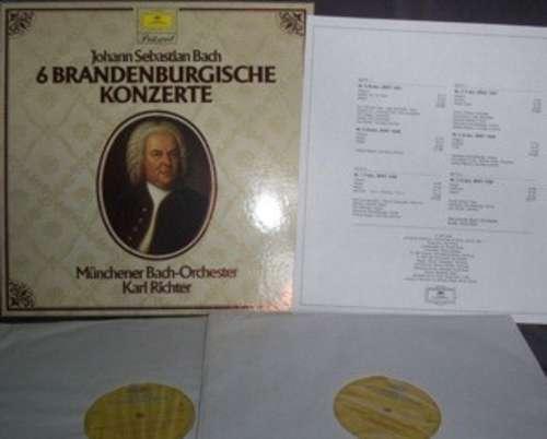 Bild Johann Sebastian Bach — Münchener Bach-Orchester · Karl Richter - 6 Brandenburgische Konzerte (2xLP, RE + Box) Schallplatten Ankauf