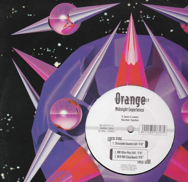 Cover Midnight Experience - Orange EP (12) Schallplatten Ankauf