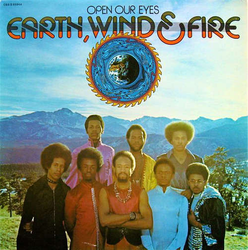 Bild Earth, Wind & Fire - Open Our Eyes (LP, Album) Schallplatten Ankauf