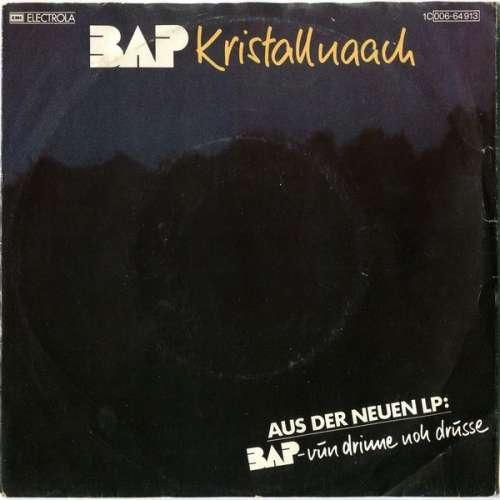 Bild BAP - Kristallnaach (7, Single) Schallplatten Ankauf