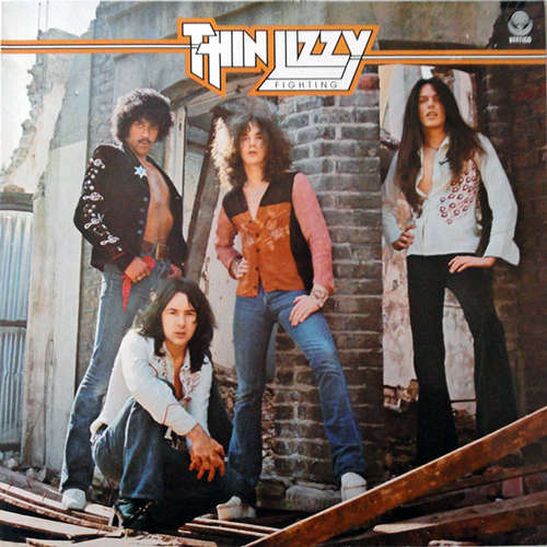Bild Thin Lizzy - Fighting (LP, Album, RE) Schallplatten Ankauf