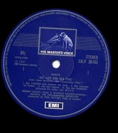 Bild Mahler*, Dietrich Fischer-Dieskau, Murray Dickie, Philharmonia Orchestra, Paul Kletzki - Das Lied Von Der Erde (LP, RE) Schallplatten Ankauf