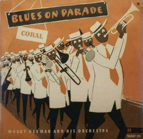 Cover Woody Herman And His Orchestra - Blues On Parade (10, Mono) Schallplatten Ankauf