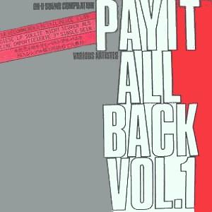 Cover zu Various - Pay It All Back Vol.1 (LP, Comp) Schallplatten Ankauf
