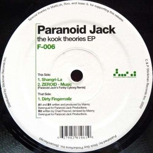 Bild Paranoid Jack - The Kook Theories EP (12, EP) Schallplatten Ankauf