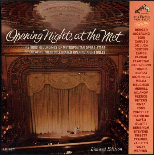 Bild Various - Opening Nights At The Met (3xLP, Album, Comp, Mono, Ltd, Num + Box) Schallplatten Ankauf
