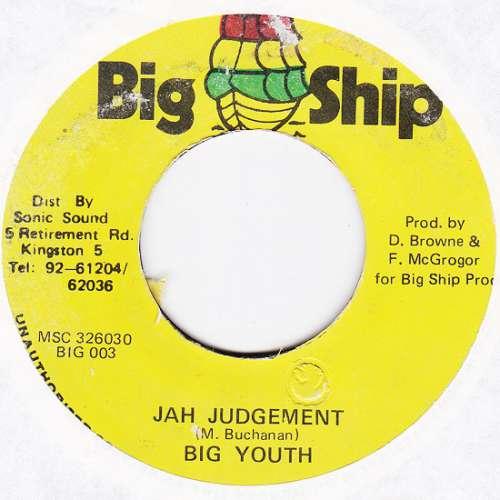 Cover Big Youth - Jah Judgement (7) Schallplatten Ankauf