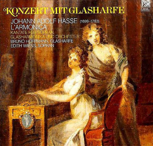 Bild Johann Adolf Hasse - Bruno Hoffmann, Edith Wiens - Konzert Mit Glasharfe (LP) Schallplatten Ankauf