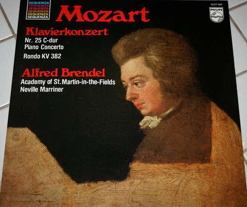 Bild Mozart* - Alfred Brendel, Academy Of St. Martin-In-The-Fields*, Neville Marriner* - Klavierkonzert Nr. 25 C-Dur / Rondo KV 382 (LP, Album) Schallplatten Ankauf