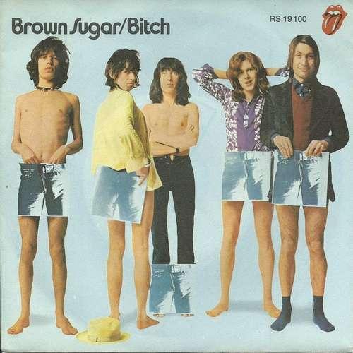 Cover The Rolling Stones - Brown Sugar / Bitch (7, Lar) Schallplatten Ankauf