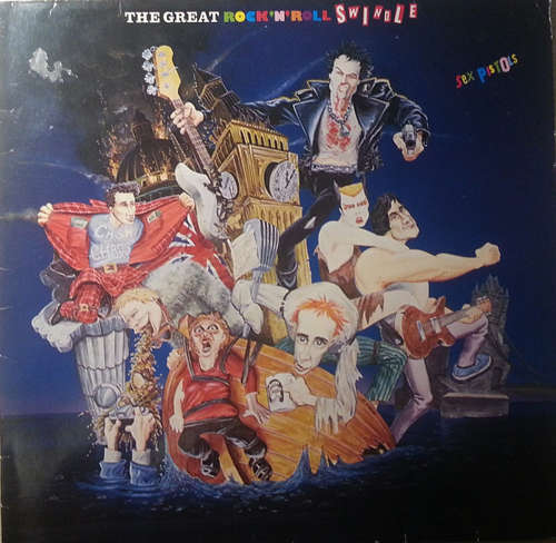 Cover Sex Pistols - The Great Rock 'N' Roll Swindle (LP, Comp, RE) Schallplatten Ankauf