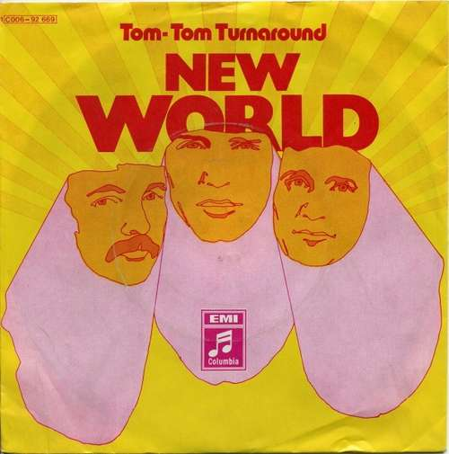Bild New World (3) - Tom-Tom Turnaround (7, Single, Mono) Schallplatten Ankauf
