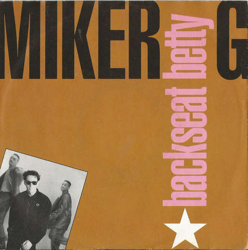 Cover Miker G* - Backseat Betty (7, Single) Schallplatten Ankauf