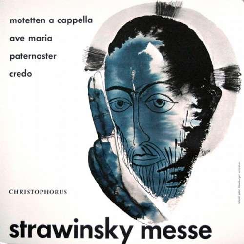 Cover zu Strawinsky* - Messe; Motetten A Capella: Ave Maria ‧ Pater Noster ‧ Credo (10) Schallplatten Ankauf