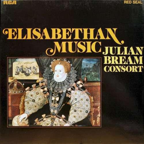 Cover zu Julian Bream Consort* - Julian Bream - Elisabethan Music (2xLP, Comp + Box) Schallplatten Ankauf