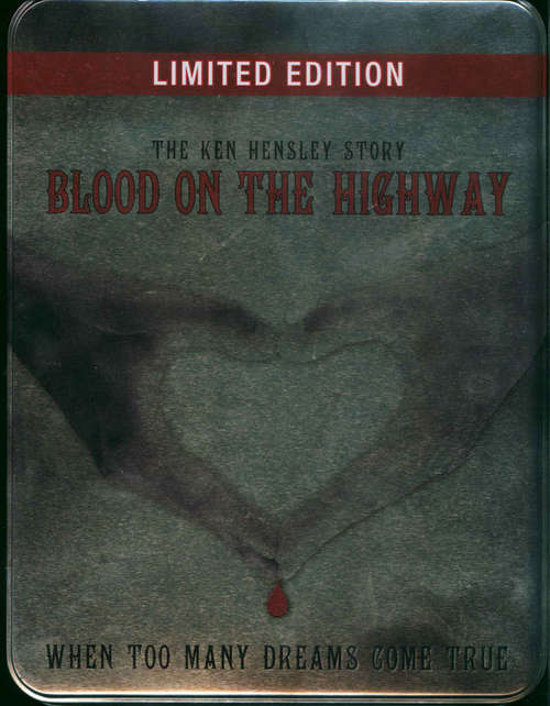 Cover Ken Hensley - Blood On The Highway (The Ken Hensley Story - When Too Many Dreams Come True) (Box, Ltd + CD, Album + 2xDVD) Schallplatten Ankauf
