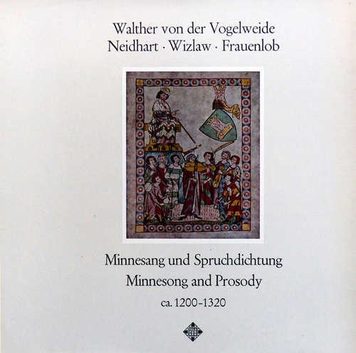 Cover Walther Von Der Vogelweide, Neidhart*, Wizlaw*, Frauenlob - Minnesang und Spruchdichtung = Minnesong And Prosody Circa 1200-1320 (LP, RE) Schallplatten Ankauf