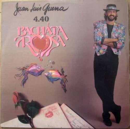 Cover Juan Luis Guerra 4.40 - Bachata Rosa (LP, Album) Schallplatten Ankauf