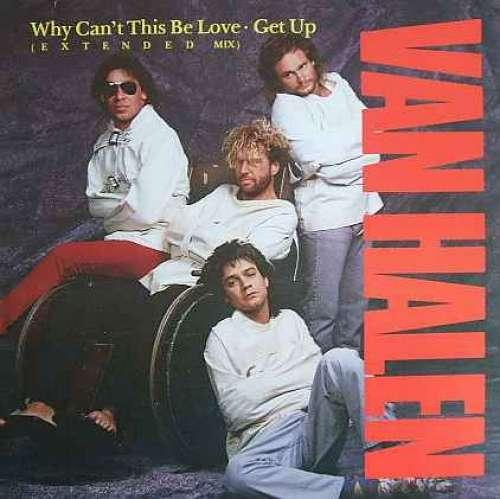 Cover zu Van Halen - Why Can't This Be Love (E X T E N D E D Mix) / Get Up (12) Schallplatten Ankauf