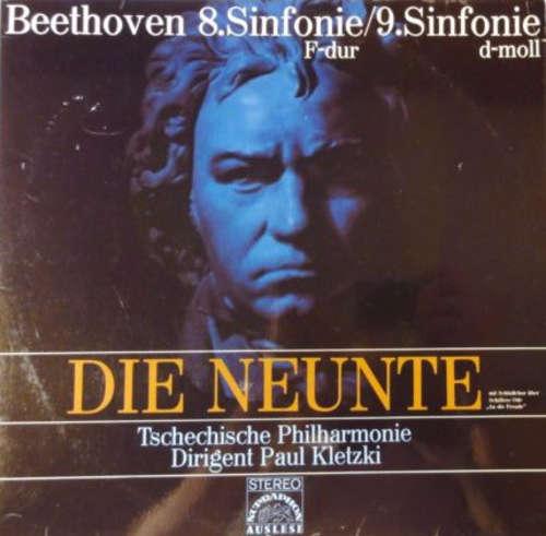 Cover zu Beethoven* - Tschechische Philharmonie* Dirigent Paul Kletzki - 8.Sinfonie F-Dur / 9.Sinfonie D-Moll (2xLP) Schallplatten Ankauf