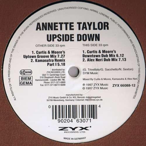 Bild Annette Taylor - Upside Down (12) Schallplatten Ankauf