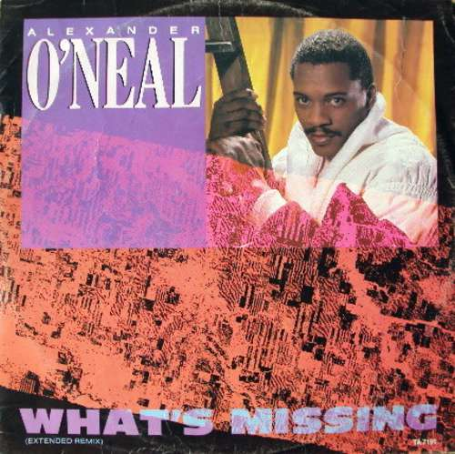 Cover Alexander O'Neal - What's Missing (Extended Remix) (12) Schallplatten Ankauf