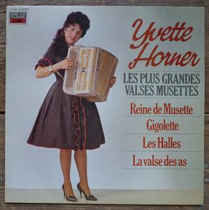 Bild Yvette Horner - Les Plus Grandes Valses Musettes (LP, Album) Schallplatten Ankauf