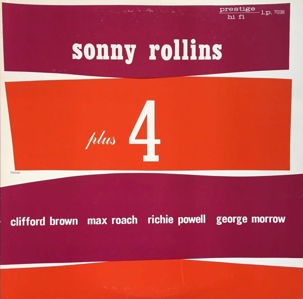 Cover Sonny Rollins - Plus 4 (LP, Album, Mono, RE) Schallplatten Ankauf