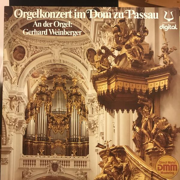 Cover zu J.S.Bach*, Franz Liszt - Gerhard Weinberger - Orgelkonzert Im Dom Zu Passau (LP, Club) Schallplatten Ankauf
