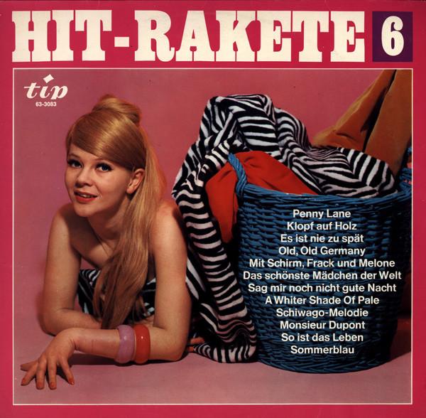 Cover zu Various - Hit-Rakete 6 (LP) Schallplatten Ankauf