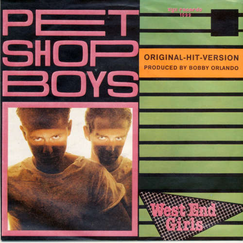 Cover Pet Shop Boys - West End Girls (7, Single, RP) Schallplatten Ankauf