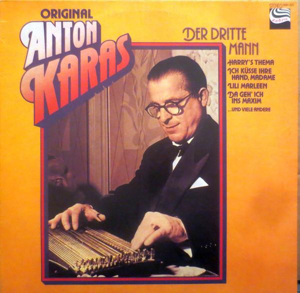 Bild Anton Karas - Der Dritte Mann (LP) Schallplatten Ankauf