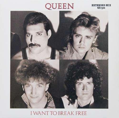 Cover zu Queen - I Want To Break Free (Extended Mix) (12) Schallplatten Ankauf