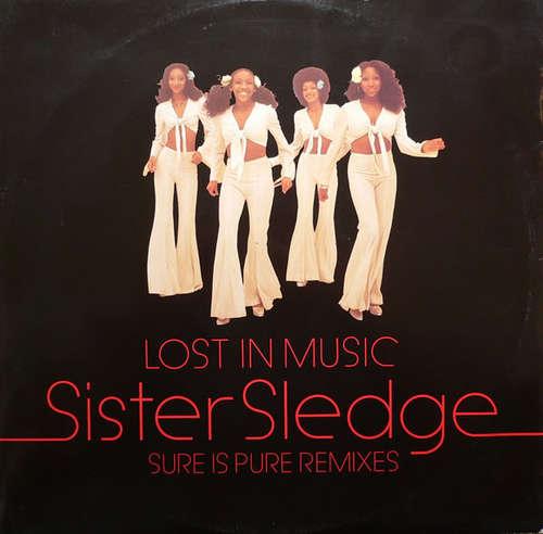 Bild Sister Sledge - Lost In Music (Sure Is Pure Remixes)  (12, Single, P.R) Schallplatten Ankauf
