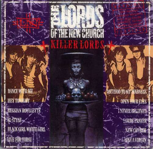 Cover Lords Of The New Church - Killer Lords (LP, Comp) Schallplatten Ankauf