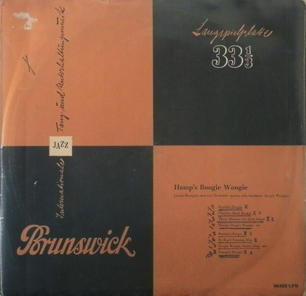 Cover Lionel Hampton Und Sein Orchester* - Hamp's Boogie Woogie (10, Mono) Schallplatten Ankauf