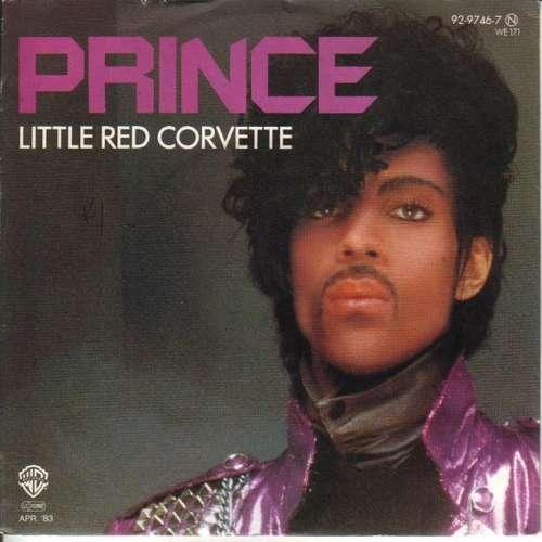 Cover Prince - Little Red Corvette (7, Single) Schallplatten Ankauf