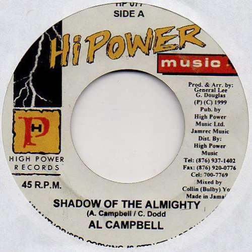 Bild Al Campbell - Shadow Of The Almighty (7) Schallplatten Ankauf