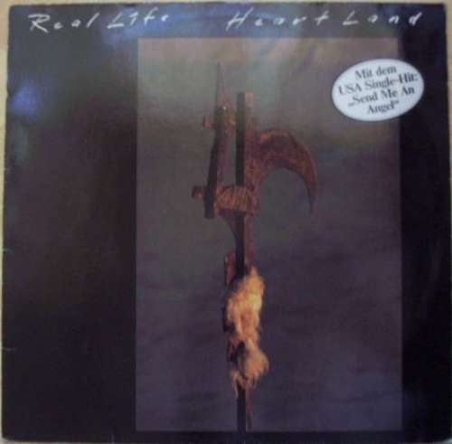 Cover zu Real Life - Heartland (LP, Album) Schallplatten Ankauf