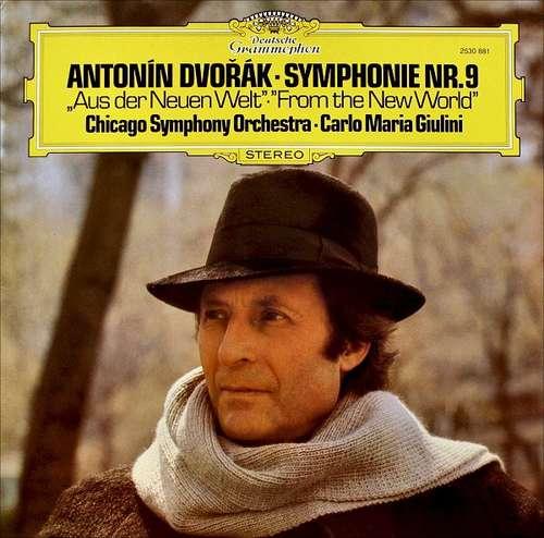 Bild Antonín Dvořák - Chicago Symphony Orchestra* • Carlo Maria Giulini - Symphonie Nr.9 Aus Der Neuen Welt • From The New World (LP, Album, RP) Schallplatten Ankauf