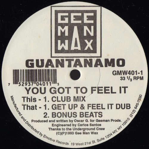 Cover Guantanamo - You Got To Feel It (12) Schallplatten Ankauf