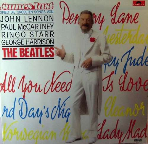Cover James Last - James Last Spielt Die Grössten Songs Von John Lennon, Paul McCartney, Ringo Starr, George Harrison - The Beatles (LP, Album) Schallplatten Ankauf